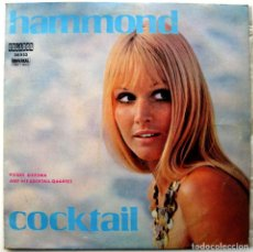 Discos de vinilo: PIERRE BIERSMA & HIS COCKTAIL QUARTET - HAMMOND COCKTAIL - LP 25 CM 33 RPM ORLADOR 1970 BPY. Lote 135898062