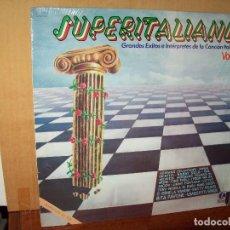 Disques de vinyle: SUPERITALIANO VOLUMEN 2 - GRANDES EXITOS CANCION ITALIANA - LP. Lote 135901094