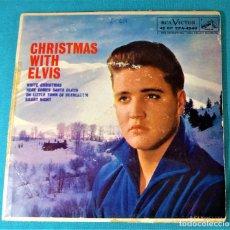 Discos de vinilo: ELVIS PRESLEY - - CHRISTMAS WITH ELVIS - - EP - EDITADO EN USA. 1959. RCA VICTOR. Lote 135861117