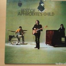 Discos de vinilo: APHRODITE´S CHILD - BEST OF (LP) 1989. Lote 135912930