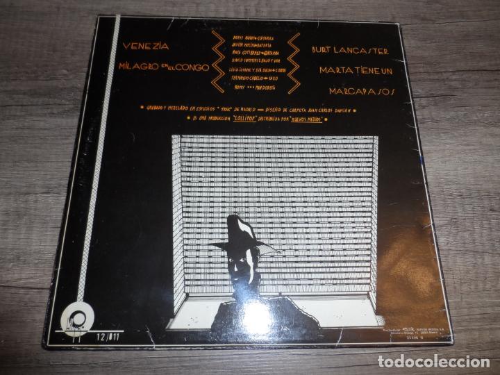 Discos de vinilo: HOMBRES G - VENEZIA +3 - Foto 2 - 135913430