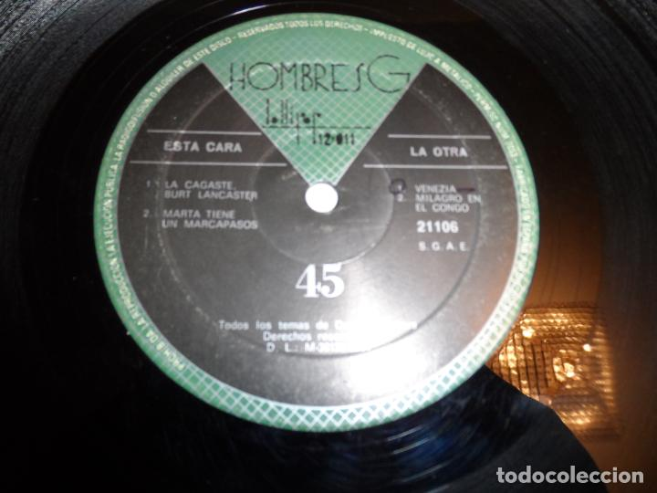 Discos de vinilo: HOMBRES G - VENEZIA +3 - Foto 3 - 135913430
