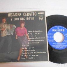 Discos de vinilo: RICARDO CERATTO Y LOS BIG BOYS-EP 1962. Lote 135917126