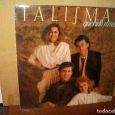 Discos de vinilo: TALISMAN - QUERIDO MUNDO - LP 1985. Lote 135919246