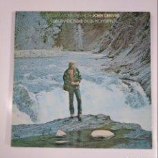 Discos de vinilo: JOHN DENVER. - ROCKY MOUNTAIN HIGH. - LA GRANDIOSIDAD DE LA MONTAÑA. LP. TDKDA41. Lote 135924062