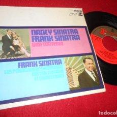 Discos de vinilo: NANCY SINATRA&FRANK UNA TONTERIA/FRANK SINATRA LOS PARAGUAS DE CHERBURGO +2 EP 1967 ESPAÑA SPAIN. Lote 135929778