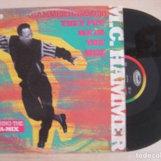 Discos de vinilo: MC HAMMER - (HAMMER HAMMER) THEY PUT ME IN THE MIX - MAXI-SINGLE 45 - ALEMAN 1991 - CAPITOL. Lote 135935686