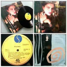 Discos de vinilo: MADONNA / BORDERLINE (MAXI-SINGLE 1984). Lote 135935702