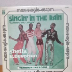 Discos de vinilo: SHEILA B. DEVOTION...LP-1977 MADE IN GERMANY !!! MUY BUSCADO !!!..SINGIN´IN THE RAI. Lote 135939823