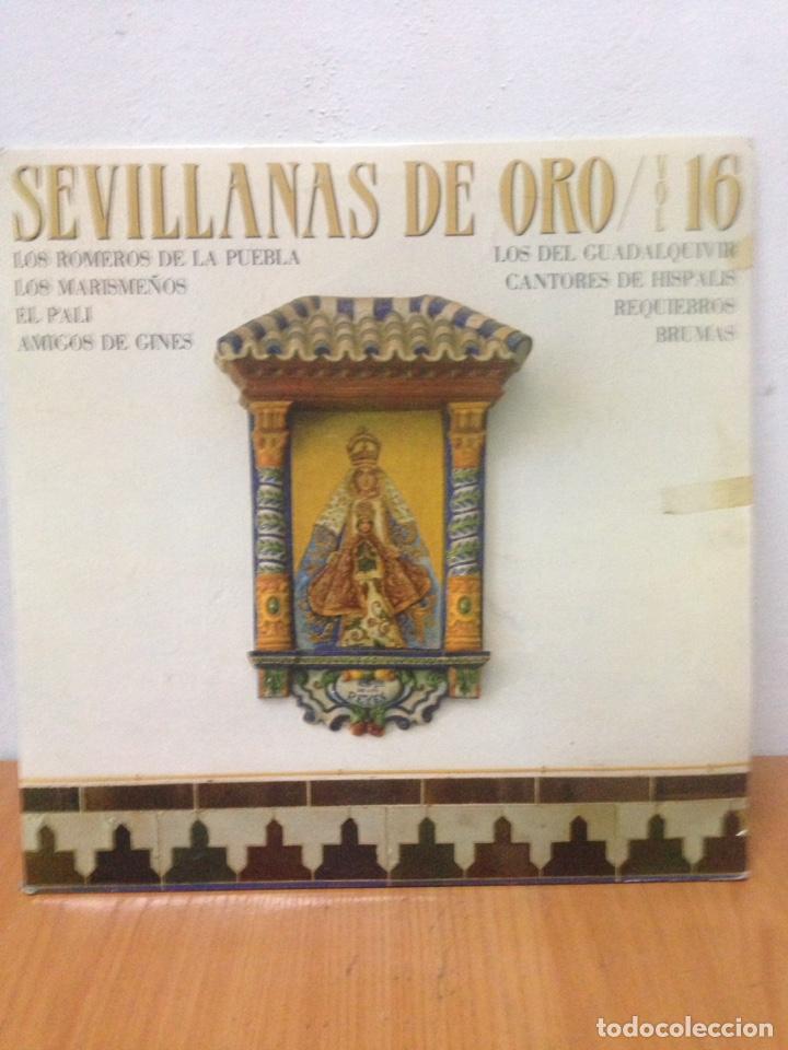 SEVILLANAS DE ORO (Música - Discos - LP Vinilo - Grupos Españoles de los 90 a la actualidad)