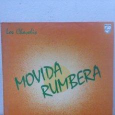 Discos de vinilo: LP VINILO - LOS CHAVOLIS - MOVIDA RUMBERA - 1985 - PHILIPS 824 853-1. Lote 135940410