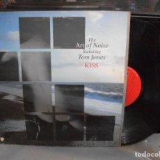 Discos de vinilo: THE ART OF NOISE & TOM JONES - KISS - MAXI 1988 PEPETO. Lote 135940882