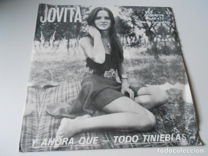 JOVITA, SG, Y AHORA QUE + 1, AÑO 1975 (Música - Discos - Singles Vinilo - Solistas Españoles de los 70 a la actualidad)