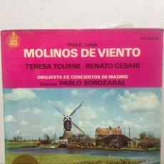 Discos de vinilo: LP MOLINOS DE VIENTO DE PABLO LUNA 1963. Lote 135948033