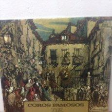 Discos de vinilo: COROS FAMOSOS DE ZARZUELA. Lote 135954631