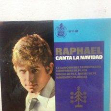 Discos de vinilo: RAPHAEL CANTA LA NAVIDAD ·. Lote 135955218
