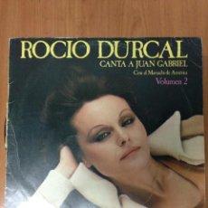 Discos de vinilo: ROCIO DURCAL - CANTA A JUAN GABRIEL VOL. 2. Lote 135955474