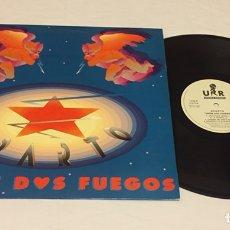 Discos de vinilo: SPARTO - ENTRE DOS FUEGOS LP (HEAVY METAL NAVARRA) RARO!!!. Lote 135984191