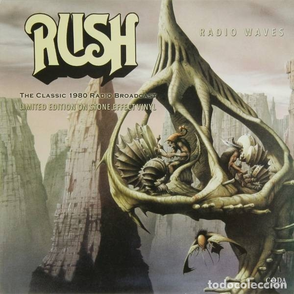 RUSH * LP 180G. VINILO COLOR PIEDRA * RADIO WAVES * LTD 500 COPIAS * PRECINTADO!! (Música - Discos - LP Vinilo - Heavy - Metal)