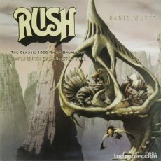 Discos de vinilo: RUSH * LP 180G. VINILO COLOR PIEDRA * RADIO WAVES * LTD 500 COPIAS * PRECINTADO!!. Lote 164343501
