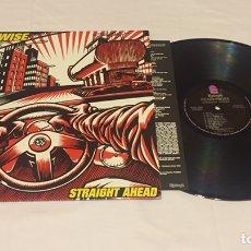 Discos de vinilo: PENNYWISE - STRAIGHT AHEAD LP (PUNK ROCK). Lote 135984486
