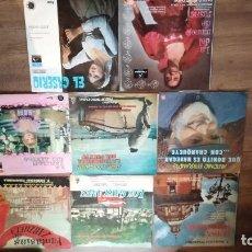 Discos de vinilo: LOTE 8 VINILOS ZARZUELA...VER FOTOS. Lote 136001250