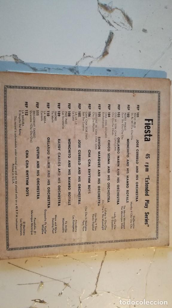 Discos de vinilo: CHA CHA RHYTHM BOYS, PIEZA EXCLUSIVA , VINILO 7. - Foto 2 - 136001682