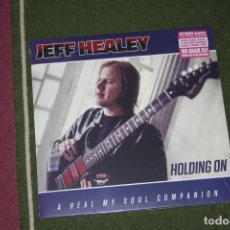 Discos de vinilo: JEFF HEALEY. HOLDING ON, DOBLE LP GATEFOLD, NUEVO.. Lote 136006534