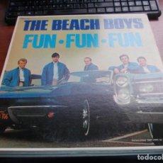 Discos de vinilo: LOTE DIEZ VINILOS THE BEACH BOYS, VER FOTOS CONTENIDO. Lote 136012306