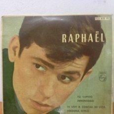 Discos de vinilo: LP RAPHAEL. Lote 136018725