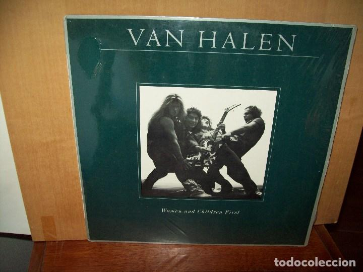 VAN HALEN - WOMEN AND CHILDREN FIRST - LP 1980 (Música - Discos - LP Vinilo - Heavy - Metal)
