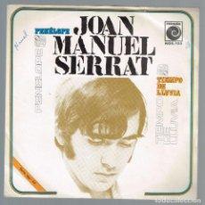 Discos de vinilo: JOAN MANUEL SERRAT. PENELOPE NOX-103 NOVOLA 1969 DISCO. Lote 136024554