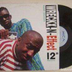 Discos de vinilo: WRECKX-N-EFFECT - RUMP SHAKER - MAXI-SINGLE 45 - HOLANDES 1992 - MCA. Lote 136034458