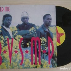 Discos de vinilo: B.V.S.M.P. - HOLD ME - MAXI-SINGLE 1991 PUMP RECORDS . Lote 136036666