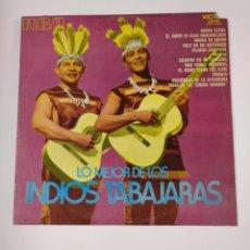 Discos de vinilo: LOS INDIOS TABAJARAS. - LO MEJOR DE LOS INDIOS TABAJARAS - LP. TDKDA42. Lote 136037182