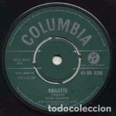 Discos de vinilo: RUSS CONWAY - ROULETTE (7, SINGLE) LABEL:COLUMBIA CAT#: 45-DB 4298 . Lote 136046822