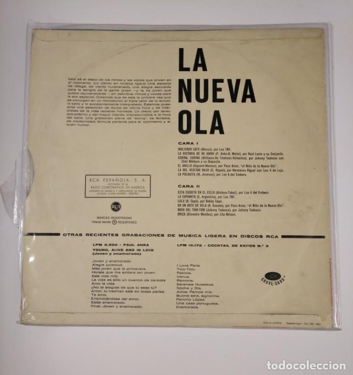 Discos de vinilo: LA NUEVA OLA. LP. VARIOS ARTISTAS. LOS TNT. RAUL LEVIE. JOHNY TEDESCO. PACO AMOR.... TDKDA42 - Foto 2 - 136049538