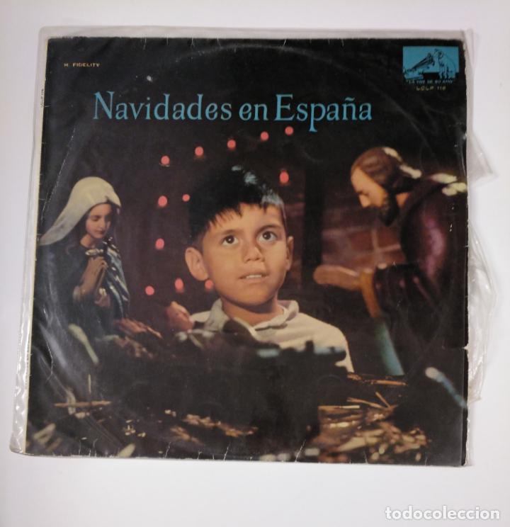 NAVIDADES EN ESPAÑA. LP. UNA PANDERETA SUENA. LA VIRGEN ES PANADERA. ARMEN ESTREPITO... TDKDA42 (Música - Discos - LP Vinilo - Otros estilos)