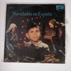 Discos de vinilo: NAVIDADES EN ESPAÑA. LP. UNA PANDERETA SUENA. LA VIRGEN ES PANADERA. ARMEN ESTREPITO... TDKDA42. Lote 136050086