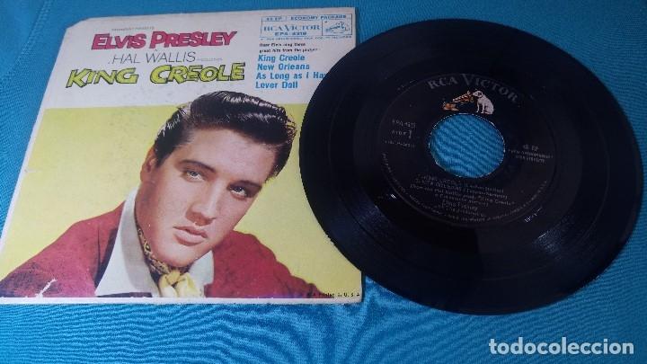 Discos de vinilo: ELVIS PRESLEY - - KING CREOLE - - EP - EDITADO EN USA, 1958. RCA VICTOR - Foto 4 - 135861105