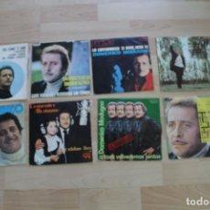 Discos de vinilo: LOTE 8 SINGLES DOMENICO MODUGNO. Lote 136055298