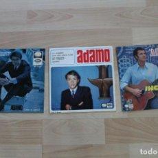 Discos de vinilo: LOTE 3 EP ADAMO. Lote 136055666