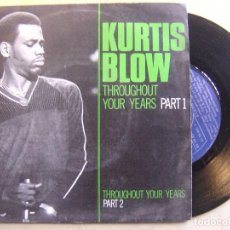 Discos de vinilo: KURTIS BLOW THROUGHOUT YOUR YERS - SINGLE 1980 - MERCURY . Lote 136064962
