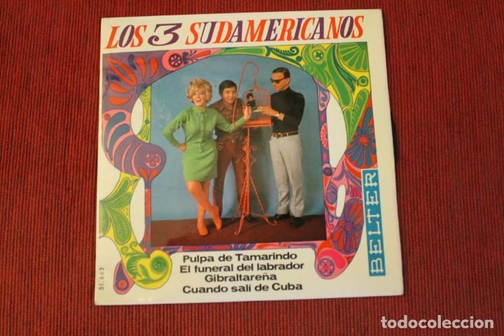 Discos de vinilo: LOTE 7 EPS LOS 3 SUDAMERICANOS - Foto 2 - 136066458