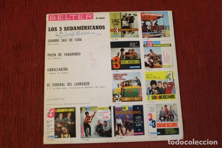 Discos de vinilo: LOTE 7 EPS LOS 3 SUDAMERICANOS - Foto 3 - 136066458