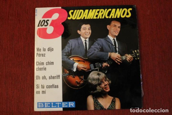 Discos de vinilo: LOTE 7 EPS LOS 3 SUDAMERICANOS - Foto 4 - 136066458