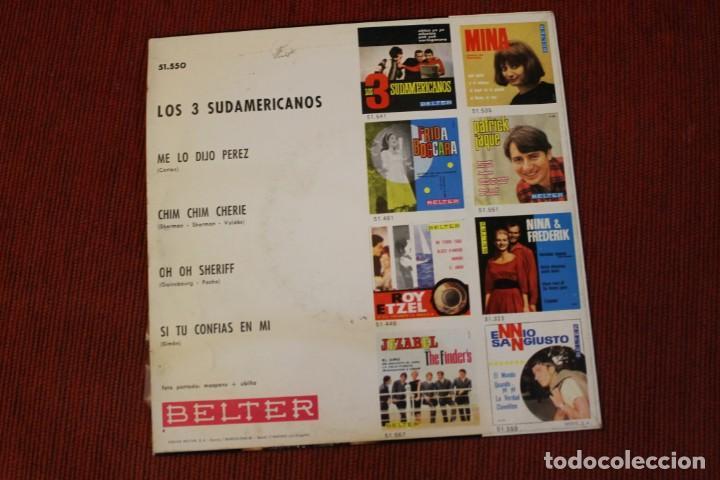 Discos de vinilo: LOTE 7 EPS LOS 3 SUDAMERICANOS - Foto 5 - 136066458