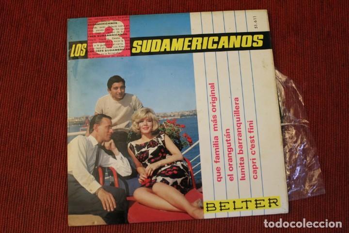 Discos de vinilo: LOTE 7 EPS LOS 3 SUDAMERICANOS - Foto 6 - 136066458