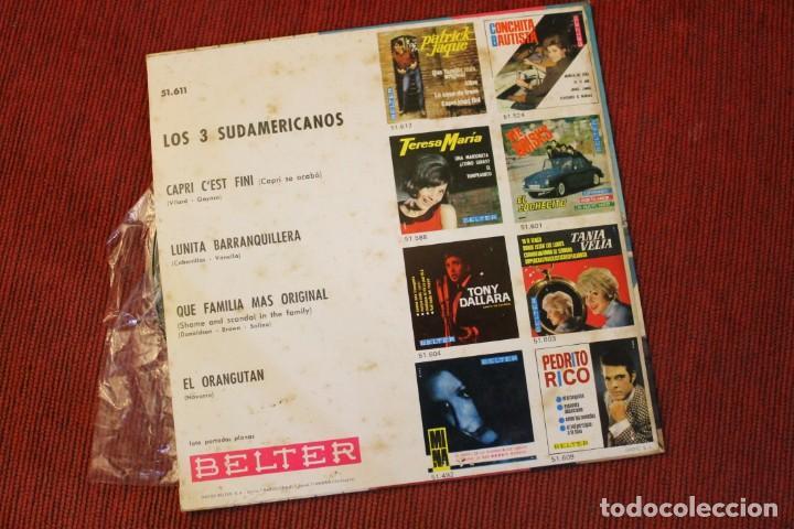 Discos de vinilo: LOTE 7 EPS LOS 3 SUDAMERICANOS - Foto 7 - 136066458