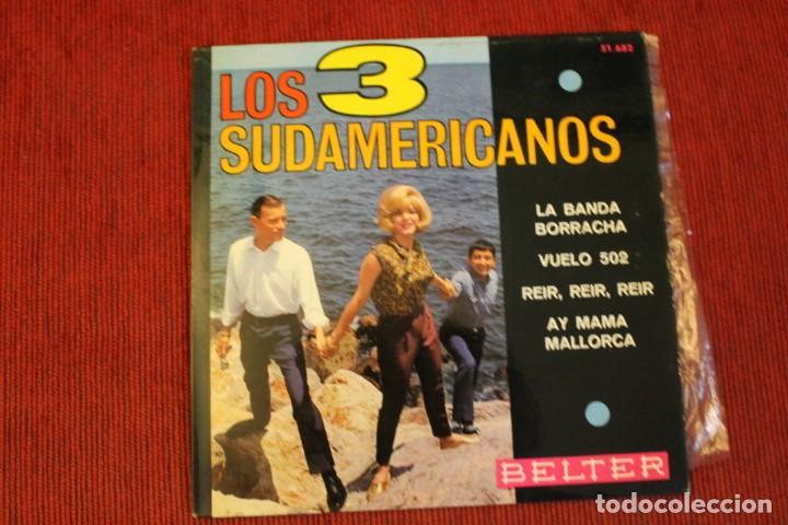 Discos de vinilo: LOTE 7 EPS LOS 3 SUDAMERICANOS - Foto 10 - 136066458